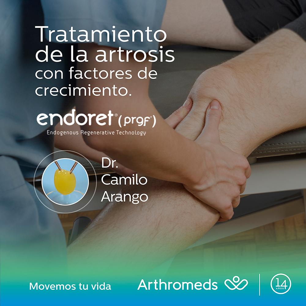 Tratamiento de la artrosis con  factores de crecimiento – ENDORET® (PRGF®)